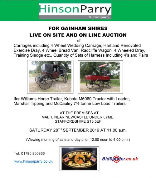 A - web ad only - Gainham Shirehorse equipment (1)-1